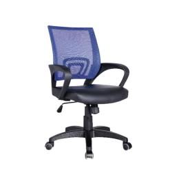 Krems καρέκλα γραφείου mesh/pu σε μπλε χρώμα 54x56xΥ91/101εκ