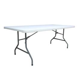 Blow Τραπέζι Συνεδρίου Catering 198x90x74cm Πτυσσόμενο Λευκό ΕΟ178